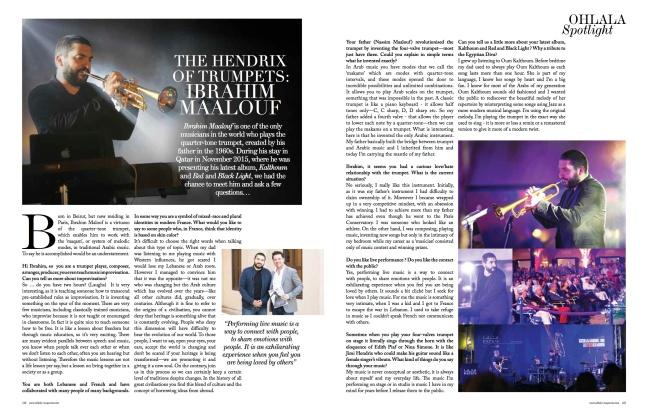 ibrahim ohlala magazine by Edward Smith